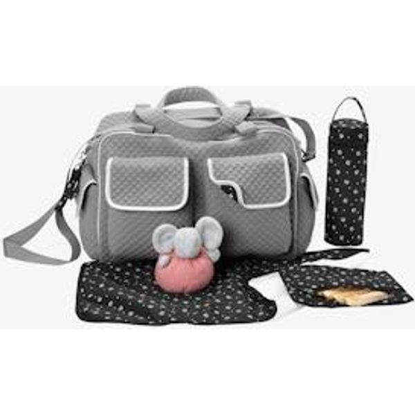 12. Changing bag grey dark two color/multicol: £38.5, Vertbaudet