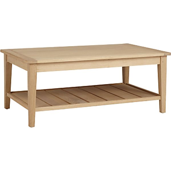 29. John Lewis Croft Collection Lyall Coffee Table, Oak: £239, John Lewis