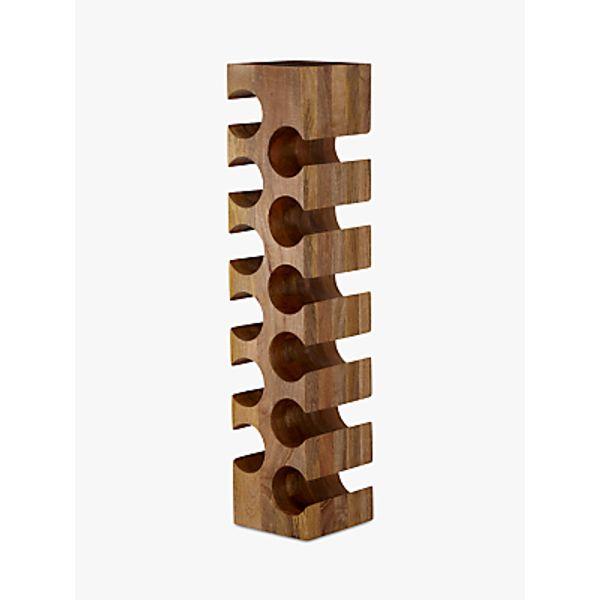 15. John Lewis Wine Rack, 12 Bottle, Mango Wood: £150, John Lewis