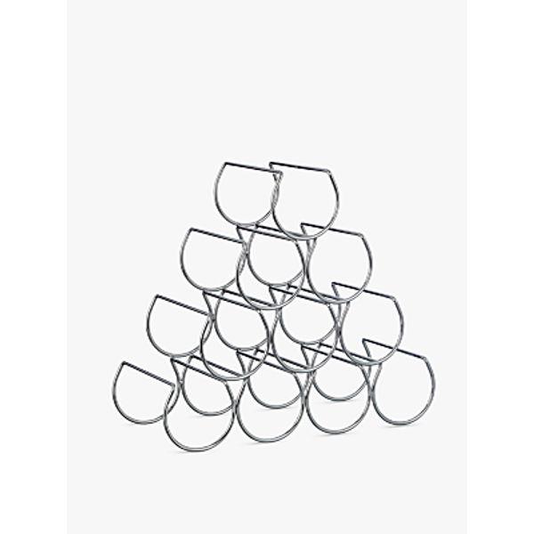 18. John Lewis Triangular Wine Rack, 10 Bottle: £20, John Lewis