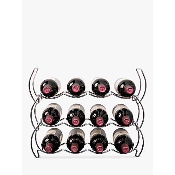 26. Hahn Stack Rack Wine Rack, 12 Bottle: £18, John Lewis
