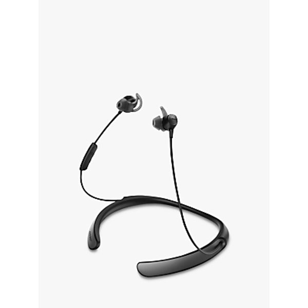 69. Bose® QuietControl® Noise Cancelling® QC30 Bluetooth/NFC Wireless In-Ear Headphones with Mic/Remo: £259.95, John Lewis