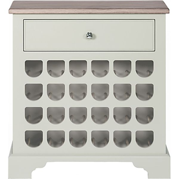 8. Neptune Chichester 2ft 6 Wine Rack Cabinet, Shingle: £750, John Lewis
