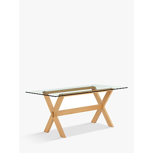 89. John Lewis Lydia Glass Top Dining Table: £329, John Lewis