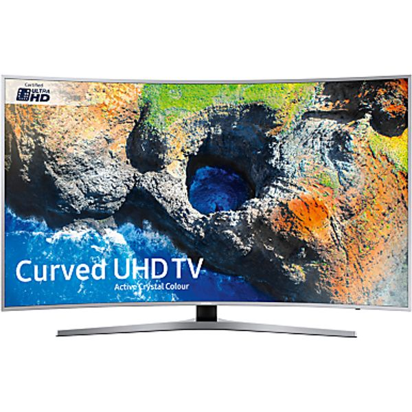 84. Samsung UE55MU6500 Ultra HD Certified Curved HDR 4K Smart TV, 55 with TVPlus & Active Crystal Colour: £899, John Lewis