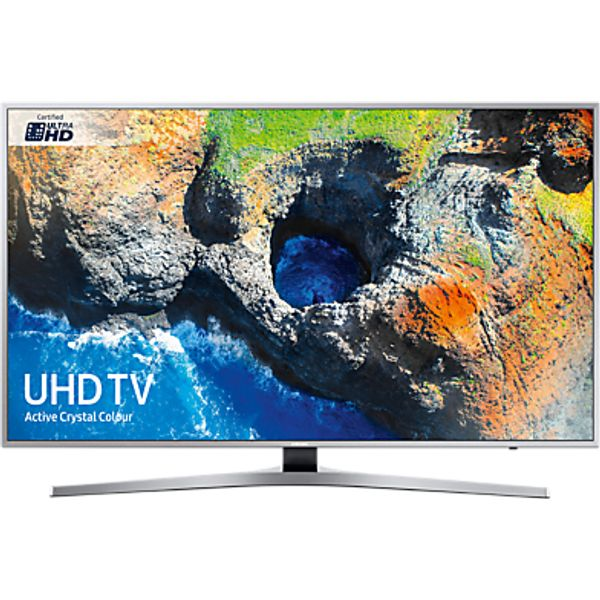 85. Samsung UE55MU6400 Ultra HD Certified HDR 4K Smart TV, 55 with TVPlus & Active Crystal Colour, Silve: £769, John Lewis