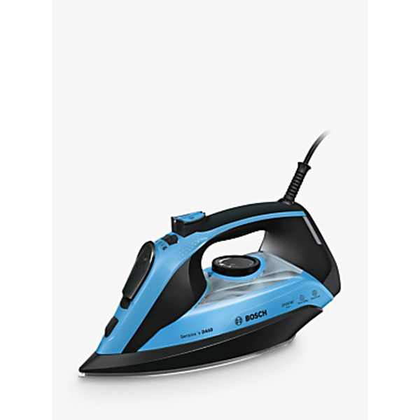 65. Bosch TDA5073GB Steam Iron, Blue: £69.95, John Lewis