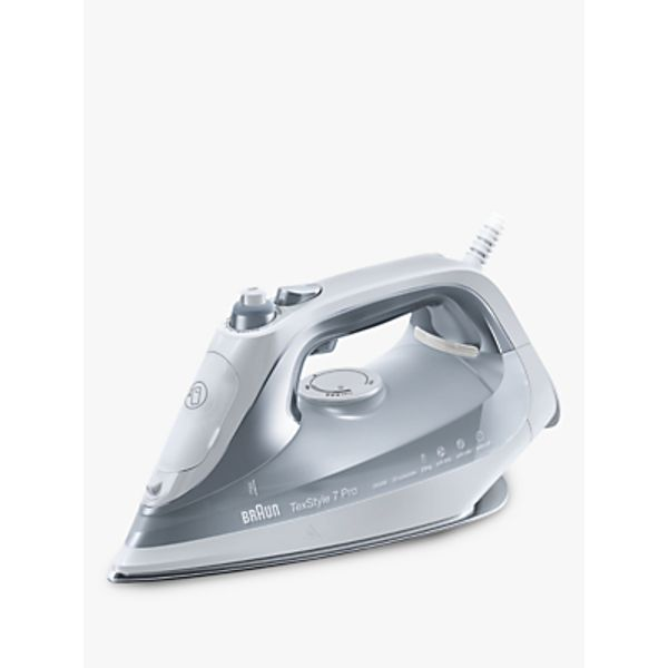 56. Braun SI7088GY Texstyle 7 Pro Steam Iron, Grey: £84.95, John Lewis