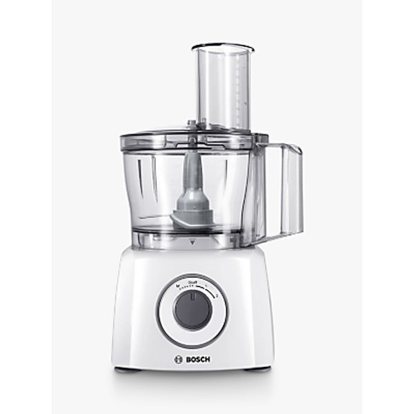 29. Bosch MCM3100WGB MultiTalent 3 Compact Food Processor, White: £79.99, John Lewis