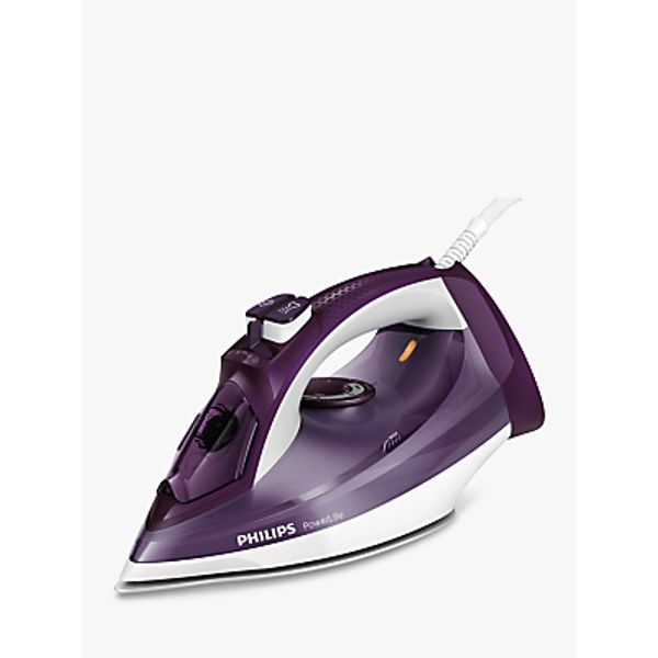 52. Philips GC2995/37 PowerLife Steam Iron, Purple/White: £65, John Lewis