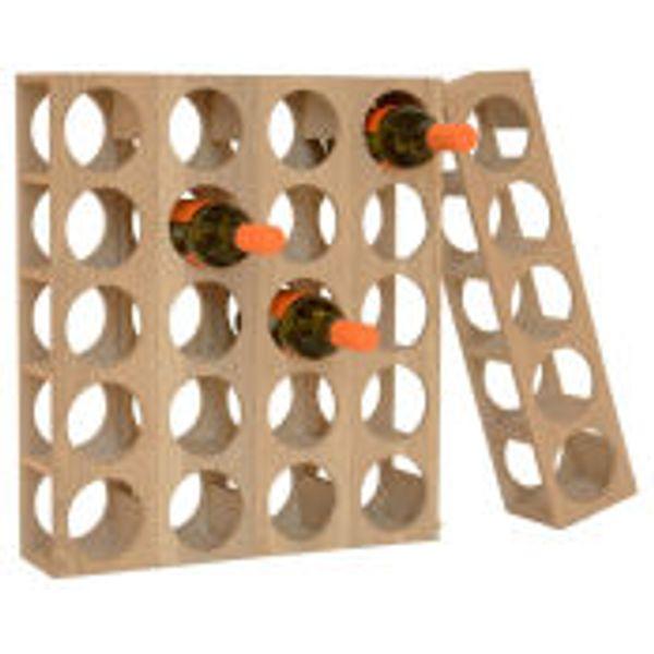 29. Wireworks Wine-0 Five Bottle Rack: £46, Mankind