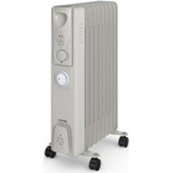 26. Warmlite WL43004Y 2000W Oil Filled Radiator - Silver: £36.99, Iwantoneofthose.com