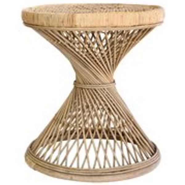 27. RATTAN SIDE TABLE in Natural Finish: £199, Cuckoo Land