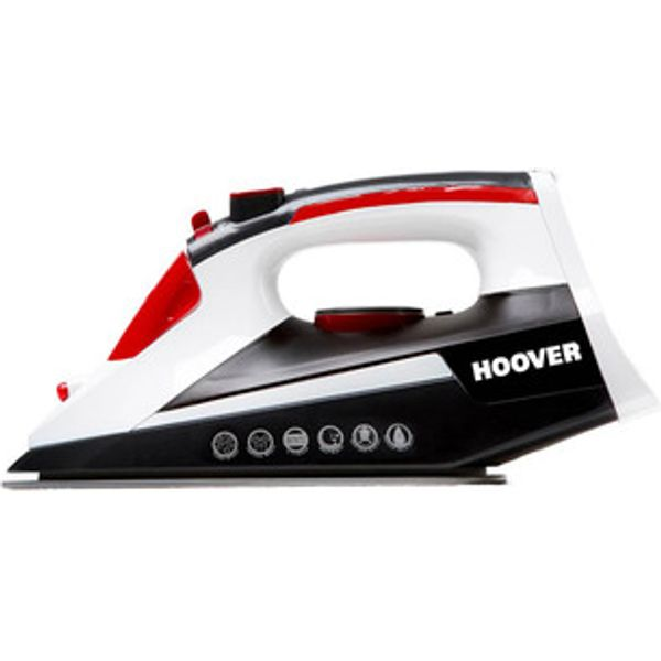 74. Hoover TIM2500CA 2500W IronJet Steam Iron Ceramic Soleplate in Black: £14.95, Sonic Direct
