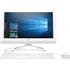 HP 20-c001na 19.5 All-in-One PC - White, White