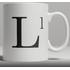 Alphabet Ceramic Mug - Letter L