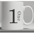 Alphabet Ceramic Mug - Number 1