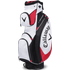 Callaway X Series Cart Bag - White / Black / Red