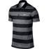 Nike Victory Bold Stripe Polo - Dark Grey / Black