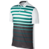 Nike Mens Mobility Fade Stripe Polo - Teal / White / Black