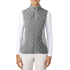 Adidas Ladies Padded Vest - Grey