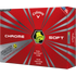 Callaway Chrome Soft Truvis Yellow Golf Balls - 1 Dozen