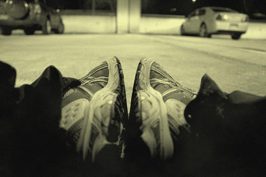 Post Run Stretch by kerosene