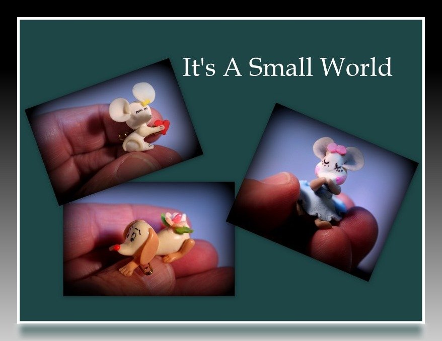 It Is A Very Small World by digitalrn