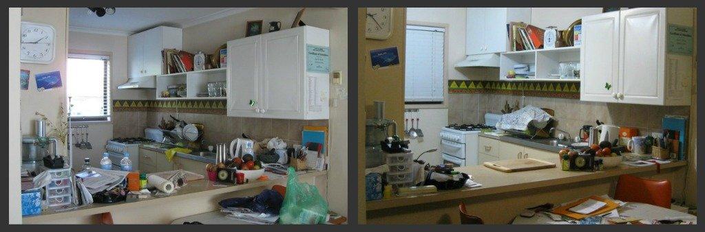 Kitchen Counter Clean-up! by mozette