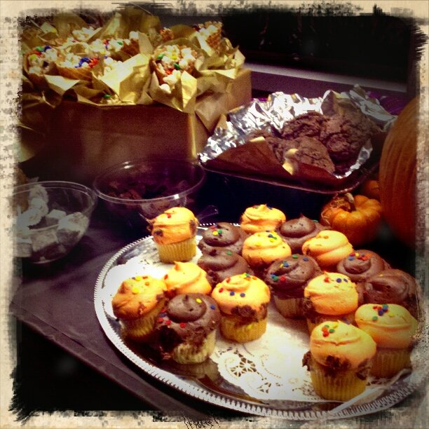 The spread at the Music Academy Showcase by bambilee