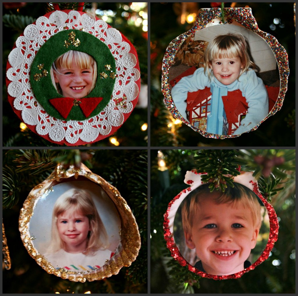 My Four Favorite Ornaments by lauriehiggins