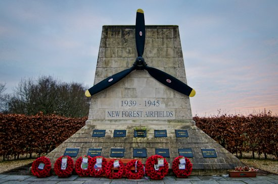 New Forest Airfields Memorial by humphreyhippo