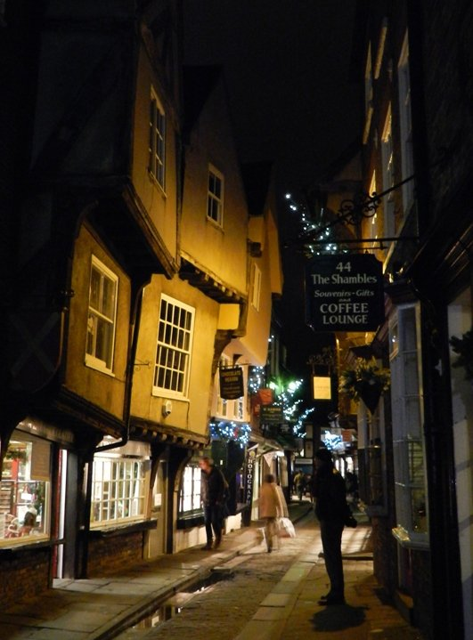 The Shambles at Night by if1