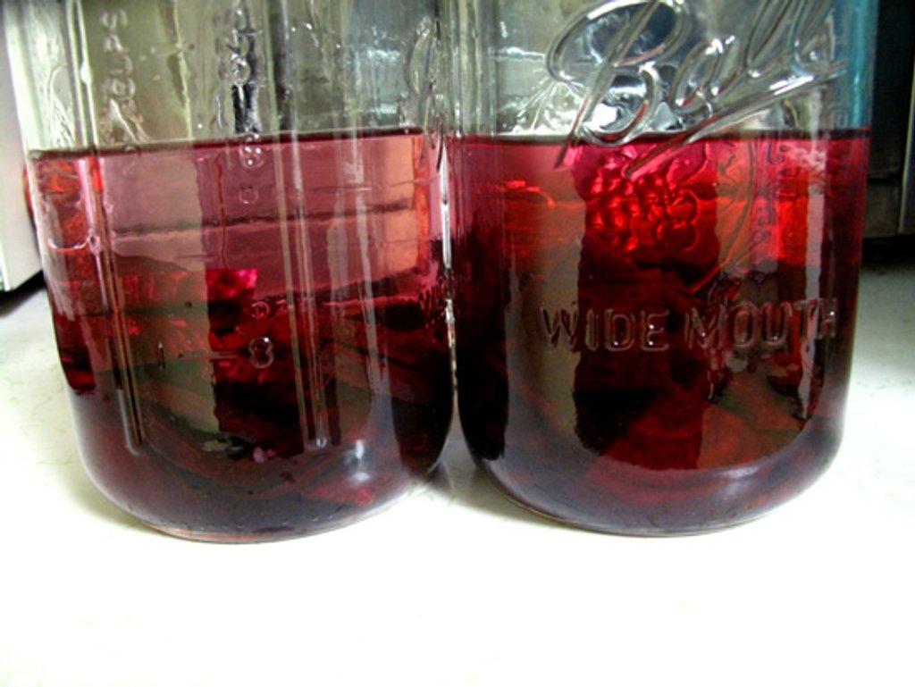 Beet-Infused Vodka by steelcityfox
