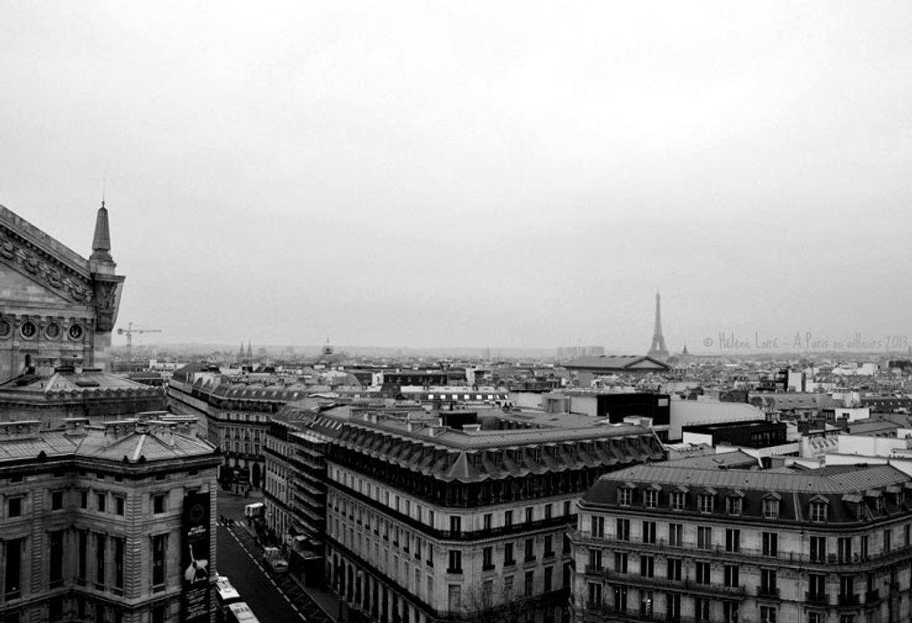 Paris in b&w by parisouailleurs