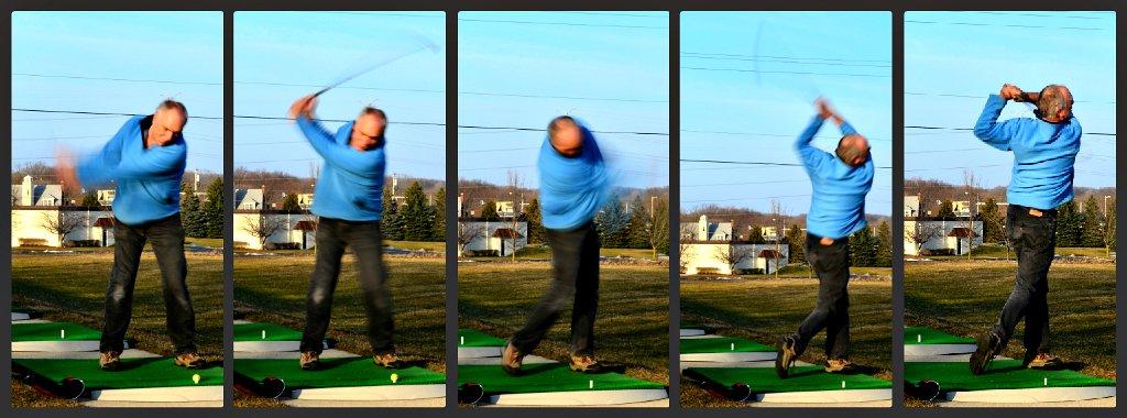 Golf Swing  by myhrhelper