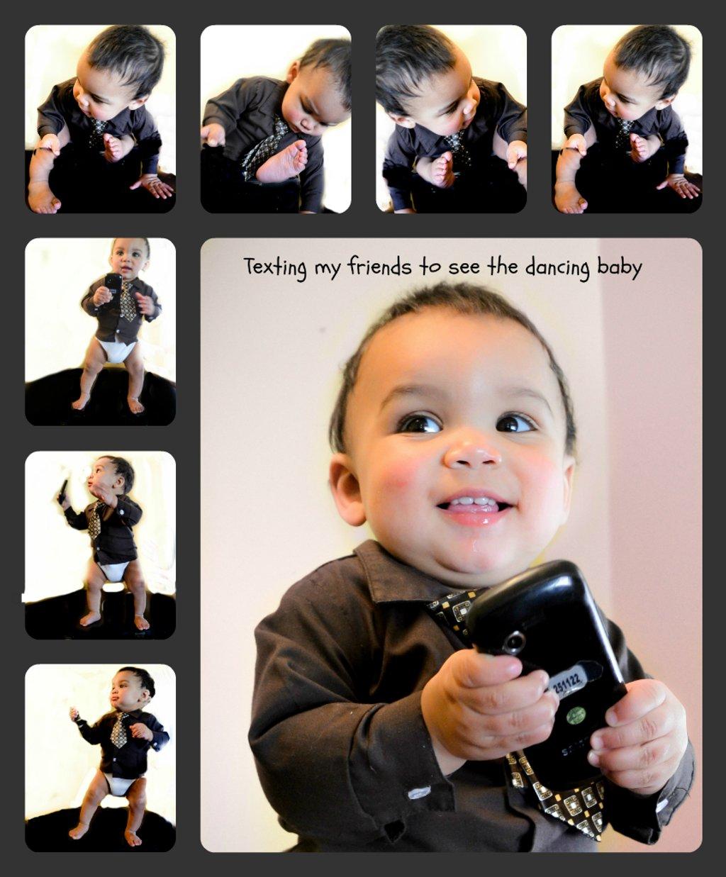Dancing Baby Collage by myhrhelper