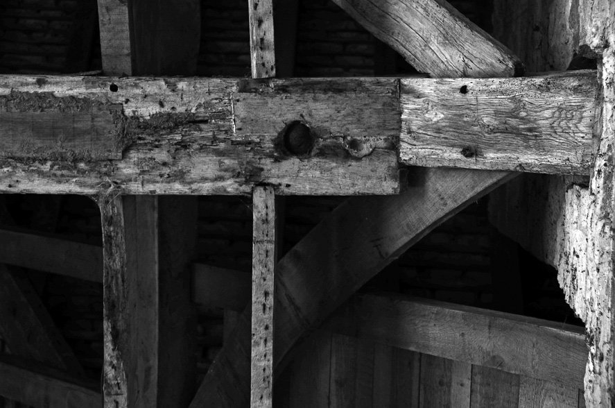 Timbers at Kirby Hall by pistonbroke