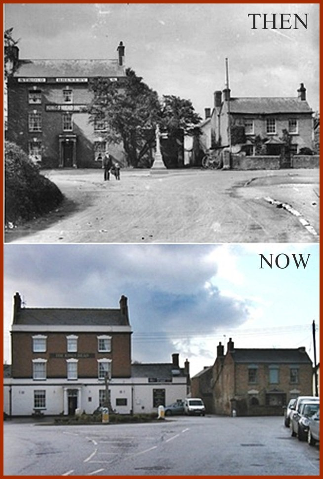 Then & Now, The Kings Head. by ladymagpie