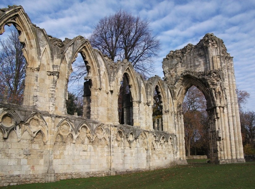 Abbey Ruins and Memories by fishers