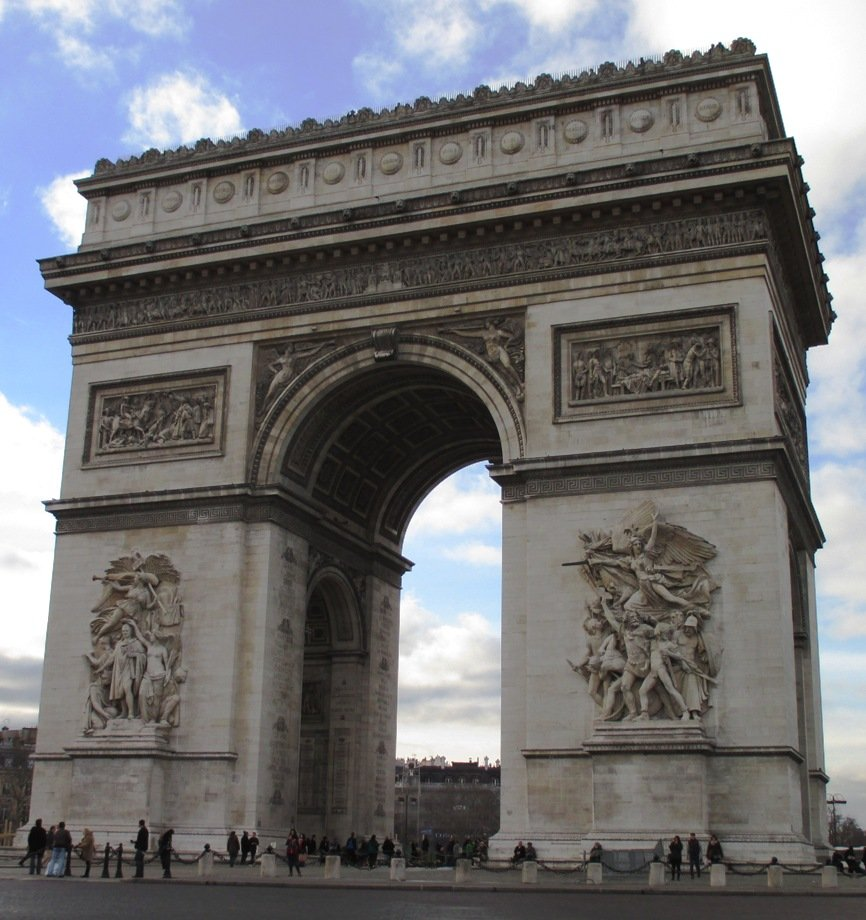 Arc de Triomphe by fishers