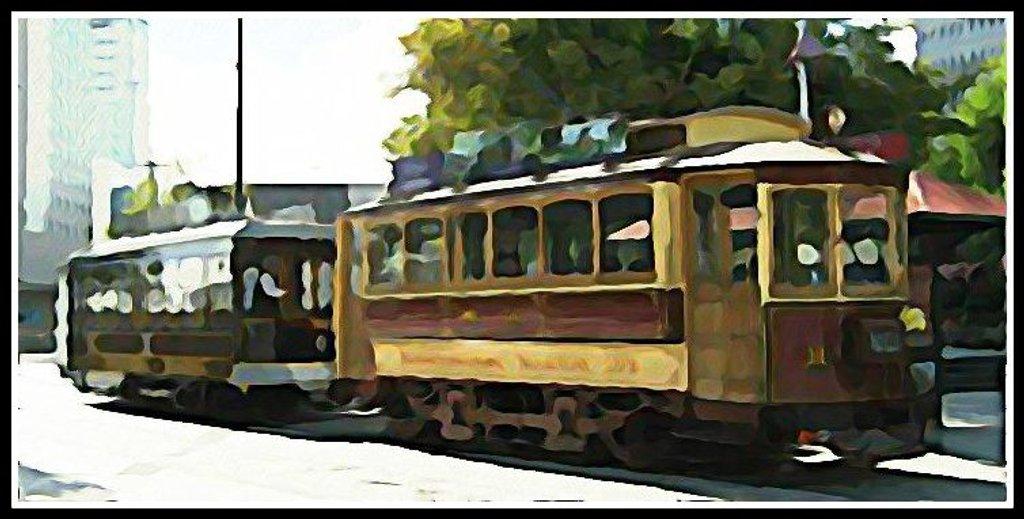 Christchurch Tram by kiwiflora