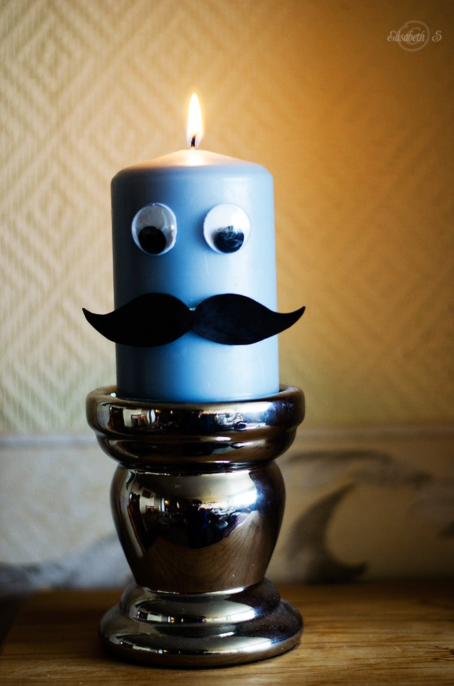 Candle man by elisasaeter