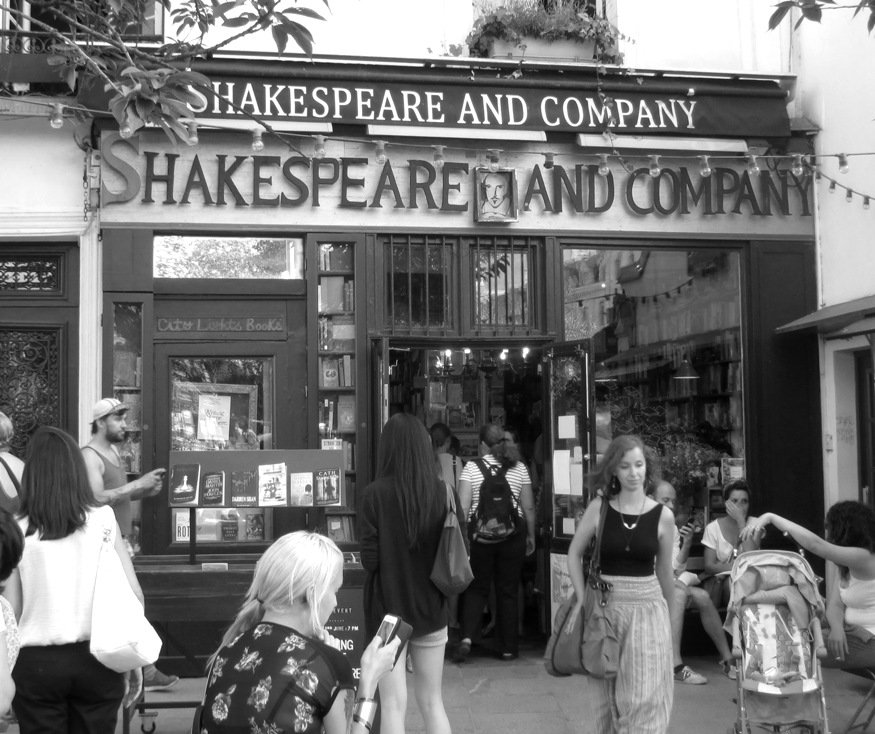 Shakespeare and Company by fishers