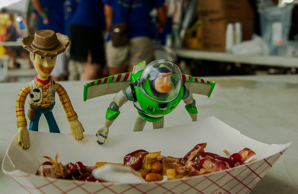 (Day 177) - Woody & Buzz at the BBQ by cjphoto