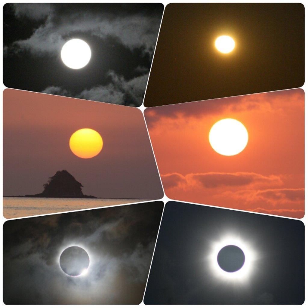 Moon, Sun & Solar Eclipse by leestevo