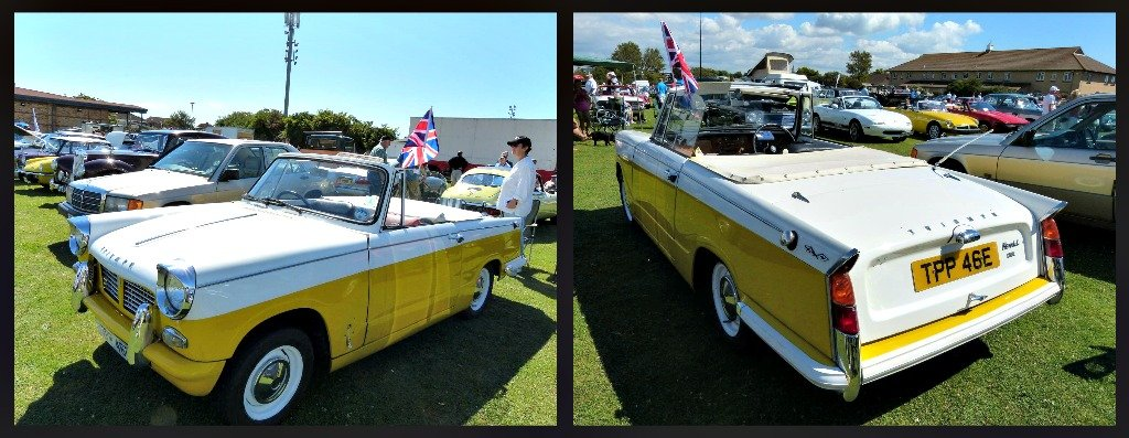 Triumph Herald Convertible 1967 by snoopybooboo