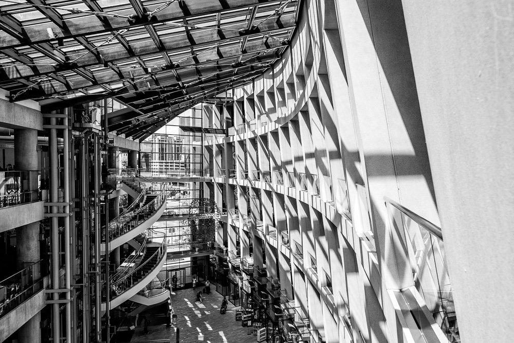 Salt Lake City Public Library by pflaume