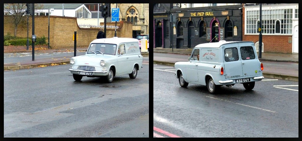 Ford Anglia Van by snoopybooboo