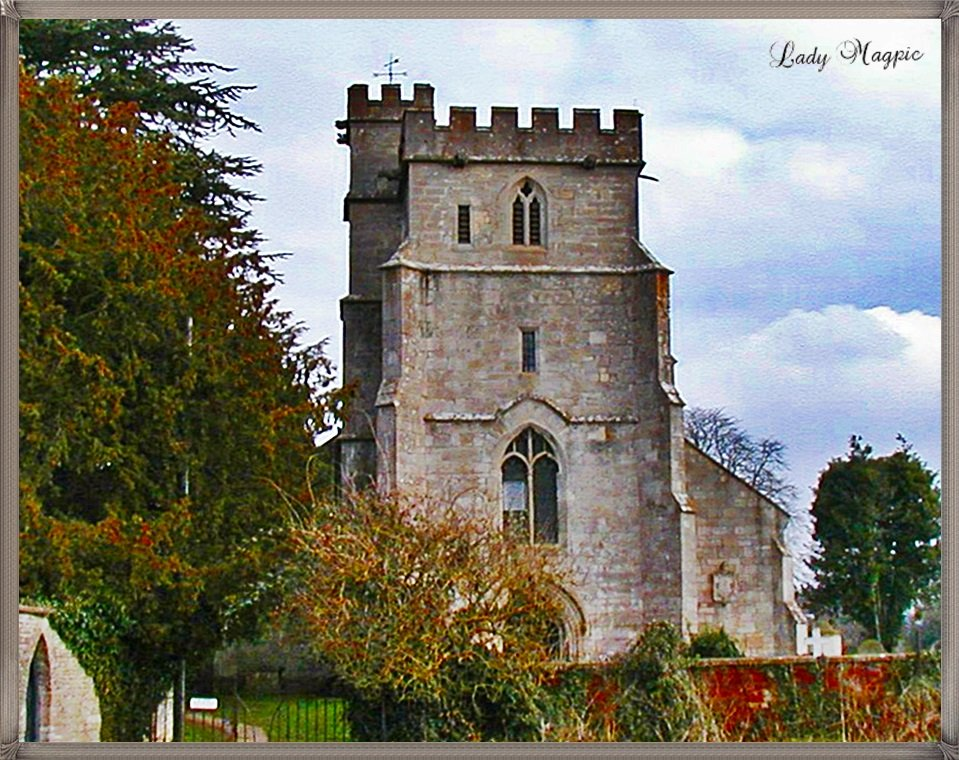 Church Tower with Family Memories by ladymagpie